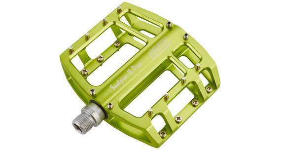 NC-17 Sudpin II Pro Pedal CNC-pedalkloss grön